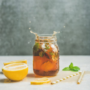 Herbal teas for airborne viruses